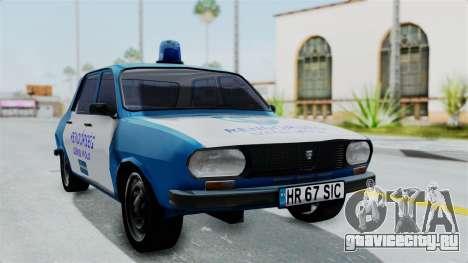 Dacia 1300 Police для GTA San Andreas
