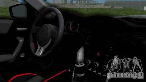 Toyota GT-86 Rocket Bunny для GTA San Andreas вид справа