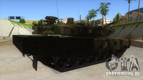 MBT52 Kuma для GTA San Andreas вид справа