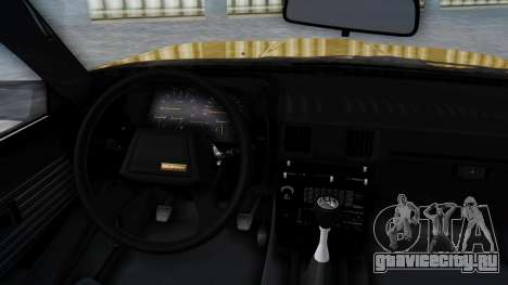 Toyota Celica Supra Mk2 для GTA San Andreas вид справа