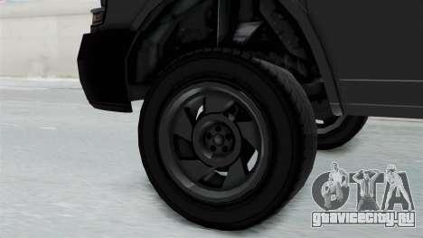 Vapid Speedo Newsvan для GTA San Andreas вид справа