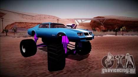 GTA 5 Imponte Phoenix Monster Truck для GTA San Andreas вид справа