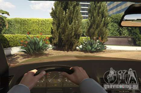 Mercedes-Benz S600 (W140) [Replace] v1.1 для GTA 5 вид сзади справа