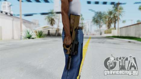 P90 Sand Frame для GTA San Andreas третий скриншот