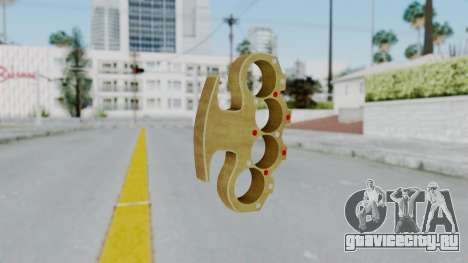 The Pimp Knuckle Dusters from Ill GG Part 2 для GTA San Andreas второй скриншот