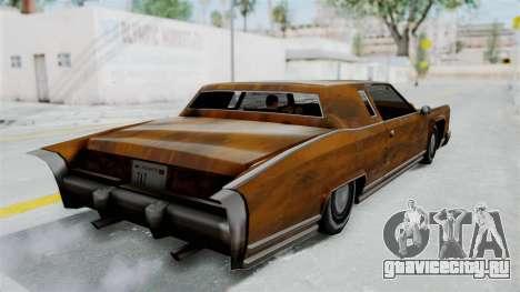 Винил Ржавчина для Remington для GTA San Andreas вид слева