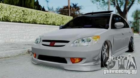 Honda Civic 2002 Model Vtec1 для GTA San Andreas