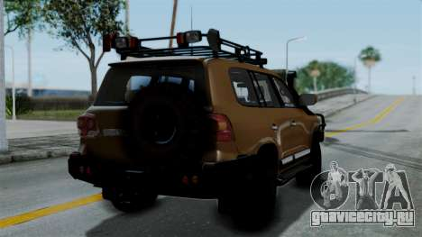 Toyota Land Cruiser 2013 Off-Road для GTA San Andreas вид слева