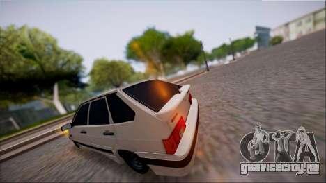 VAZ Lada 2114 для GTA San Andreas вид сзади слева