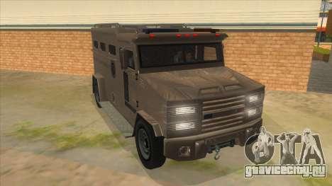 GTA 5 Brute Riot Police для GTA San Andreas вид сзади