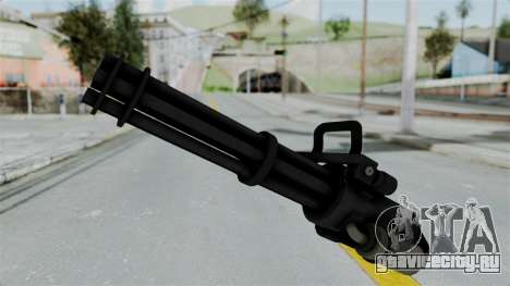 GTA 5 Minigun для GTA San Andreas второй скриншот