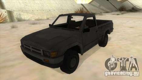 Toyota Hilux Militia для GTA San Andreas