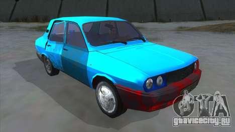 Dacia 1310 Rusty для GTA San Andreas вид сзади