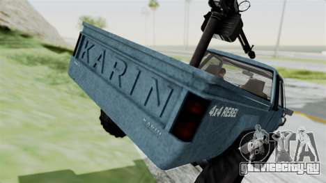 GTA 5 Karin Technical Machinegun IVF для GTA San Andreas вид сбоку