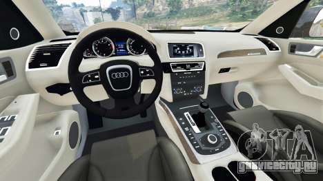 Audi Q5 2015 для GTA 5 вид сзади справа