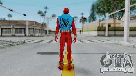 Scarlet Spider Ben Reilly для GTA San Andreas третий скриншот