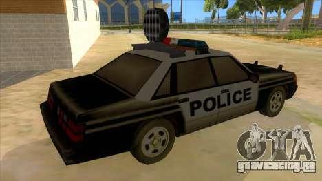 Police Car from Manhunt 2 для GTA San Andreas вид справа