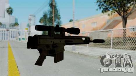 SCAR-20 v2 Folded для GTA San Andreas второй скриншот