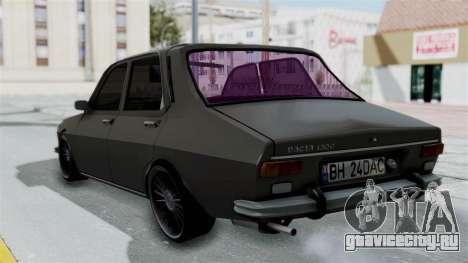 Dacia 1300 Edition[RC] для GTA San Andreas вид слева
