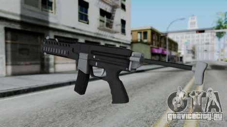 GTA 5 Combat PDW - Misterix 4 Weapons для GTA San Andreas второй скриншот