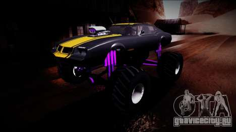 GTA 5 Imponte Phoenix Monster Truck для GTA San Andreas вид снизу