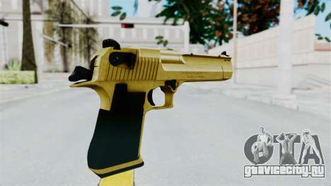 Pouxs Desert Eagle v2 Gold для GTA San Andreas третий скриншот