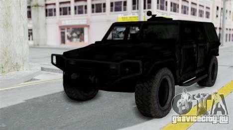 HMLTV-998 BULDOG from Crysis 2 для GTA San Andreas