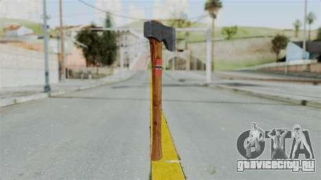 GTA 5 Hatchet - Misterix 4 Weapons для GTA San Andreas второй скриншот