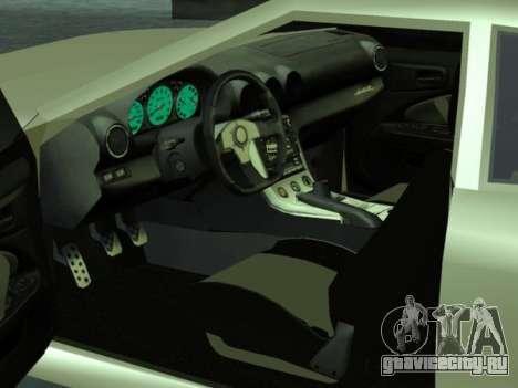 GTR Elegy для GTA San Andreas вид сбоку