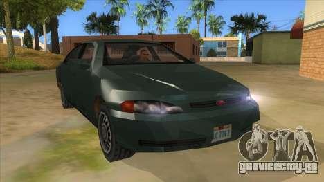 GTA LCS KURUMA для GTA San Andreas вид сзади