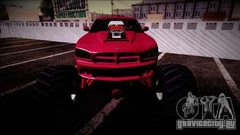 2006 Dodge Charger SRT8 Monster Truck для GTA San Andreas