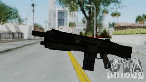 GTA 5 Assault Shotgun для GTA San Andreas второй скриншот