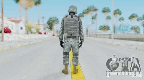 Acu Soldier Balaclava v3 для GTA San Andreas третий скриншот