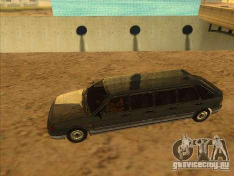 VAZ 2114 9-door для GTA San Andreas вид справа