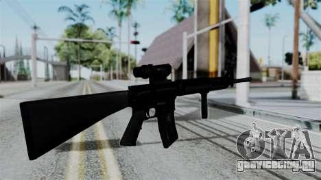 No More Room in Hell - M16A4 ACOG для GTA San Andreas третий скриншот
