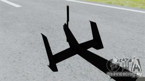 GTA 5 Super Volito Carbon для GTA San Andreas вид сзади слева