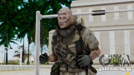 Crysis 2 US Soldier FaceB Bodygroup B для GTA San Andreas