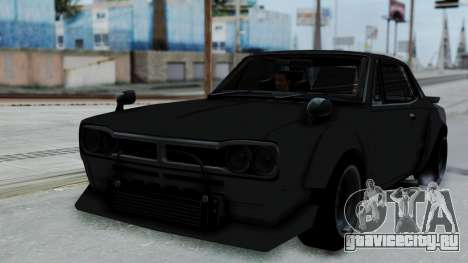 Nissan Skyline 2000GTR Speedhunters Edition для GTA San Andreas