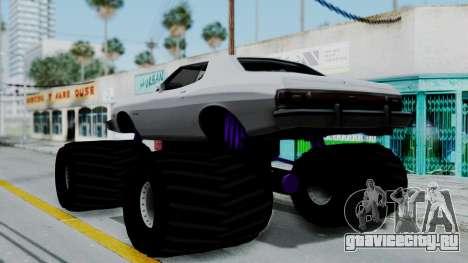 Ford Gran Torino Monster Truck для GTA San Andreas вид слева