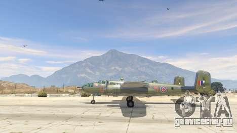 B-25 для GTA 5 второй скриншот