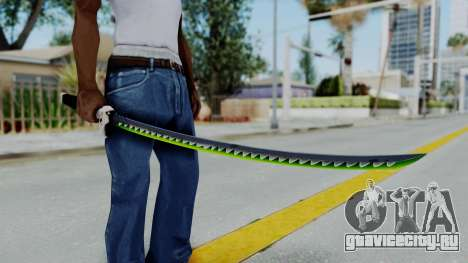Genji Katana - Overwatch для GTA San Andreas