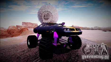 GTA 5 Imponte Phoenix Monster Truck для GTA San Andreas вид сбоку
