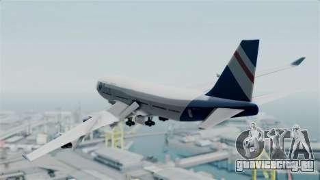 GTA 5 Jumbo Jet v1.0 Air Herler для GTA San Andreas вид слева
