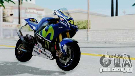 Yamaha YZR M1 2016 для GTA San Andreas