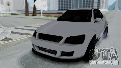 GTA 5 Karin Sultan RS Stock PJ для GTA San Andreas вид снизу
