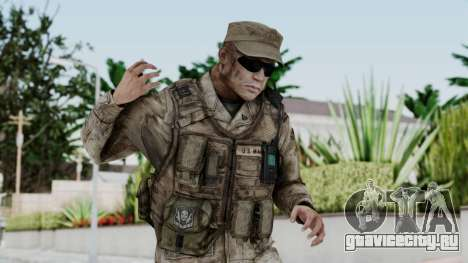 Crysis 2 US Soldier 3 Bodygroup A для GTA San Andreas