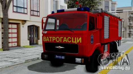 FAP Serbian Fire Truck для GTA San Andreas