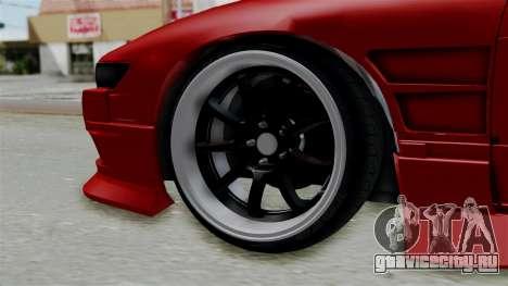 Nissan Silvia S13 Drift для GTA San Andreas вид сзади слева
