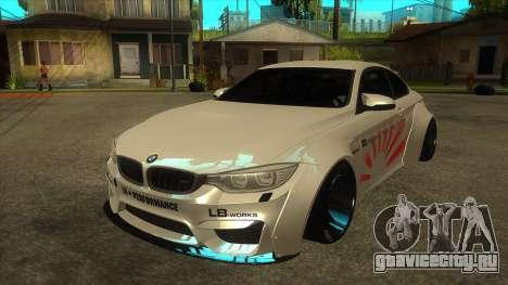 BMW M4 Liberty Walk Performance для GTA San Andreas