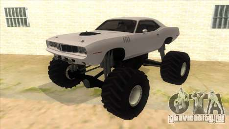 1971 Plymouth Hemi Cuda Monster Truck для GTA San Andreas